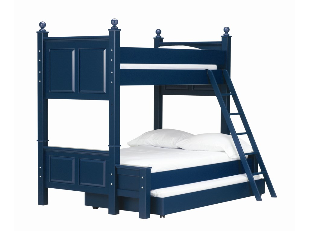 Lang MadisonTwin Over Full Bunk Bed with Trundle Bed