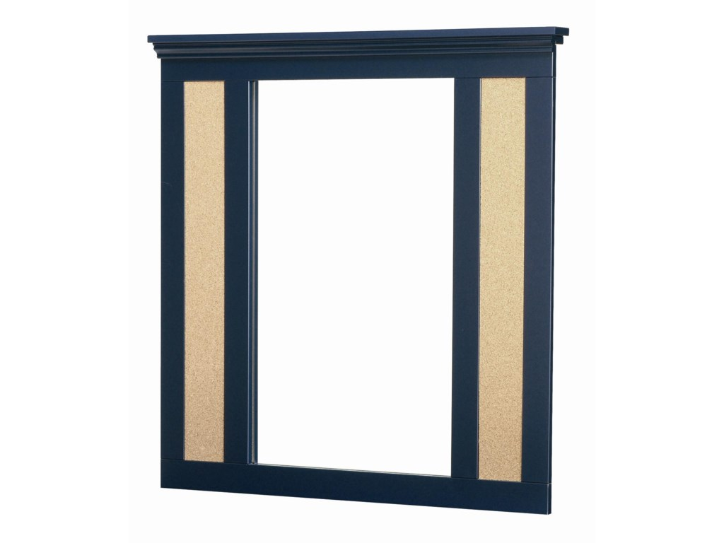 Lang MadisonBulletin Board Mirror with Supports