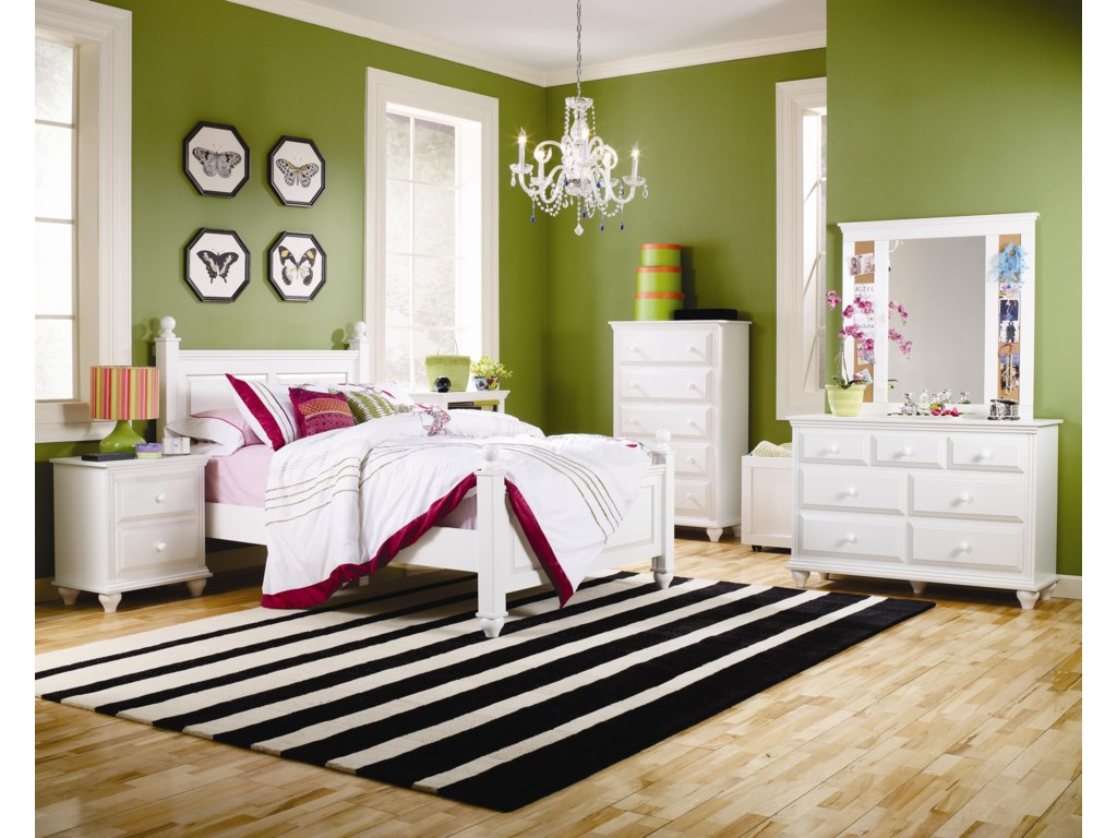 Lang Madison5 Drawer Chest with Roller Glides