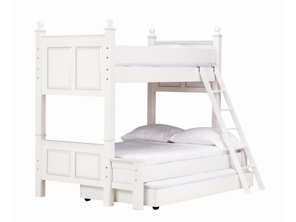 Madison Twin Over Full Bunk Bed With Trundle By Lang At Rune S Furniture