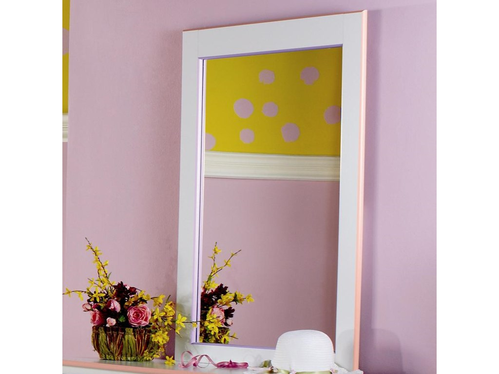 Lang MiamiFramed Mirror with Supports