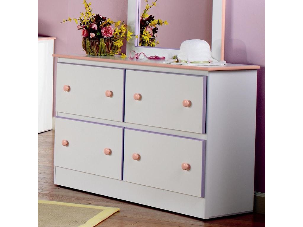 Lang Miami4 Deep Drawer Dresser with Roller Glides