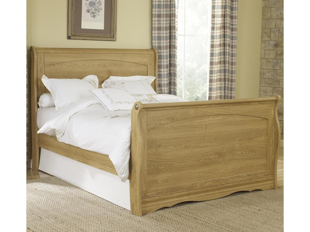 Lang Oak CreekQueen Sleigh Bed