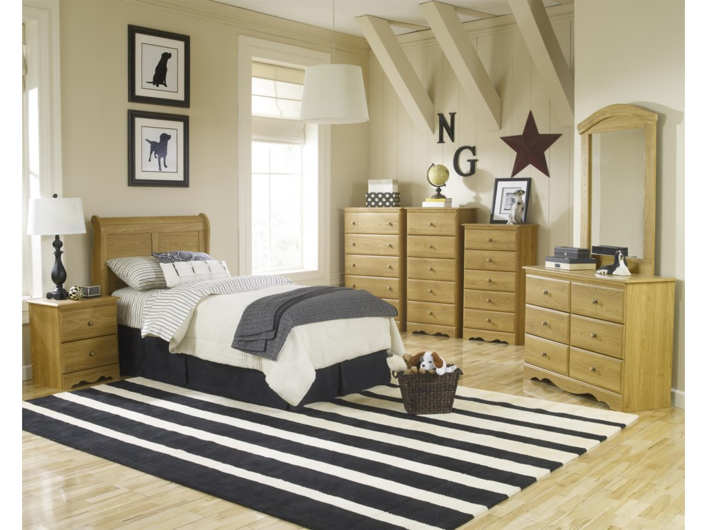 Lang Oak CreekTall Chest of Drawers