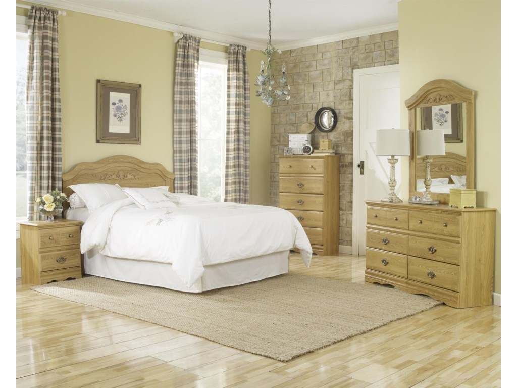 Lang Oak CreekQueen Panel Headboard