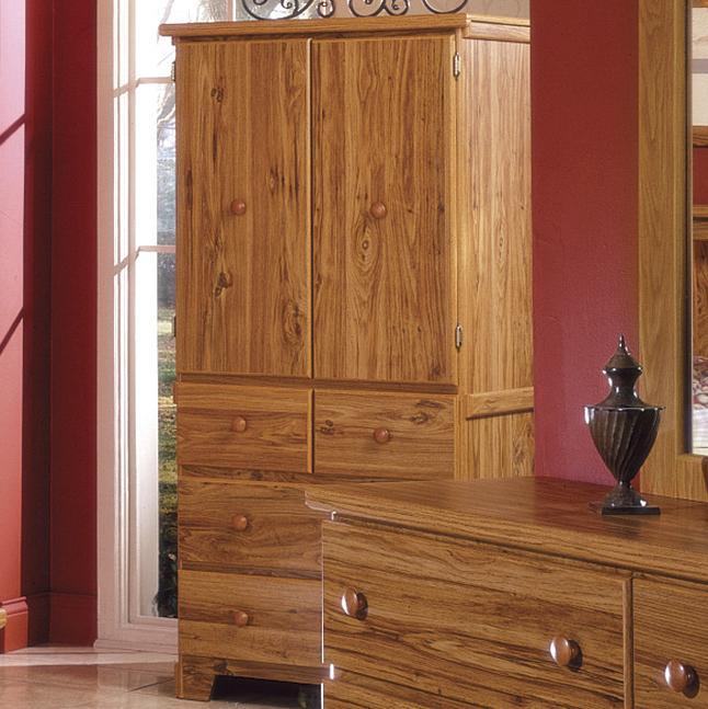 Lang Shaker4 Drawer 2 Door Armoire ...