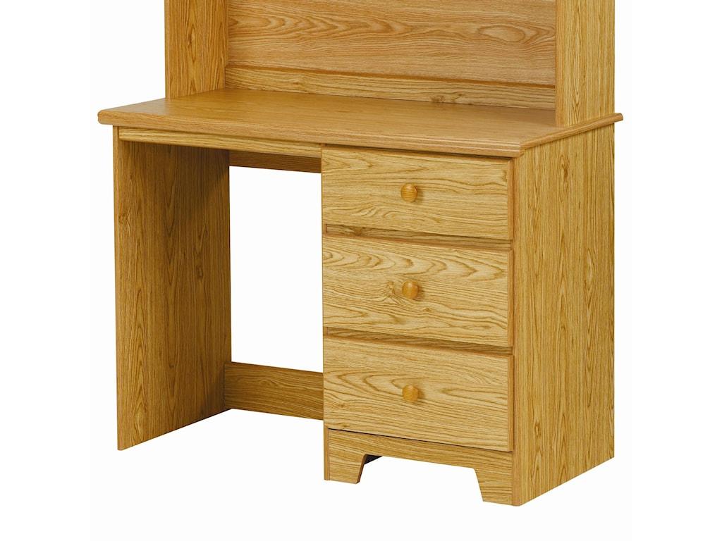 Lang Shaker3 Drawer Desk