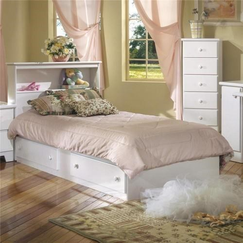 Lang Shaker Twin Bookcase Headboard W Mate S Bed Base