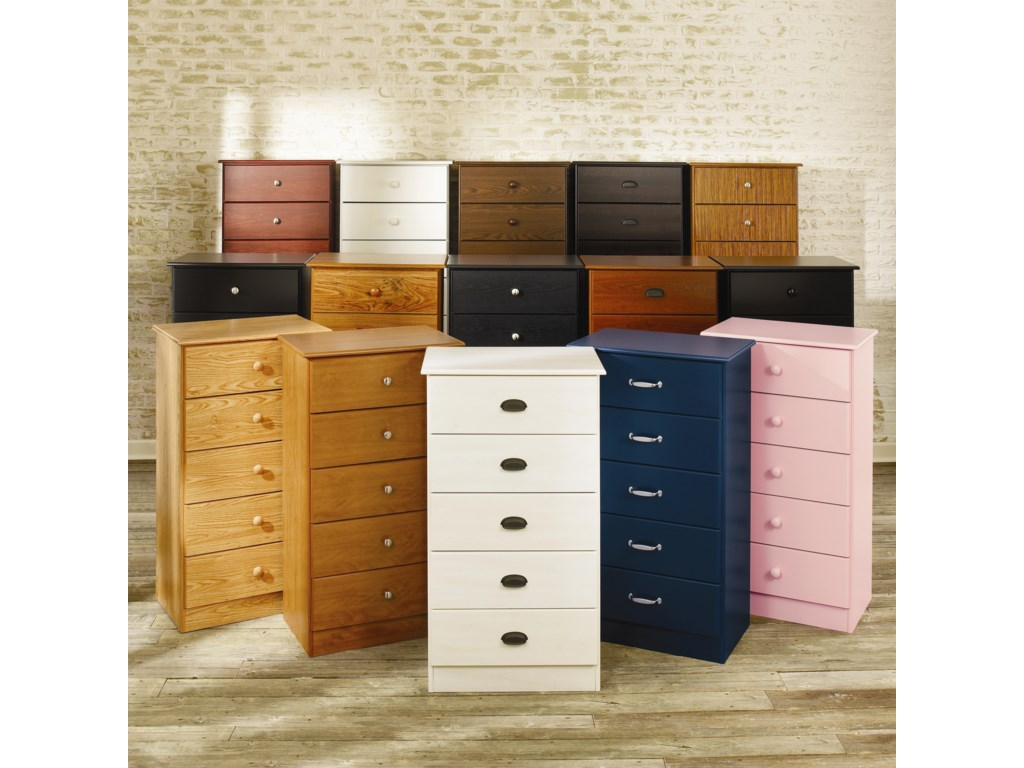 Lang Special5 Drawer Chest with Roller Glides