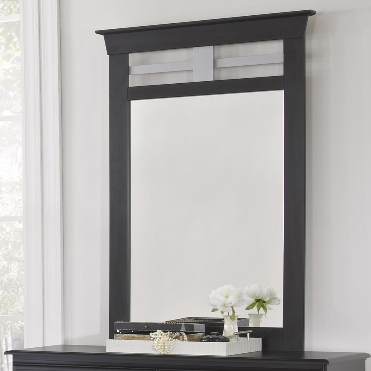 Lang Trenton Vertical Mirror With Metal Accent | Colderu0027s Furniture And  Appliance | Dresser Mirror