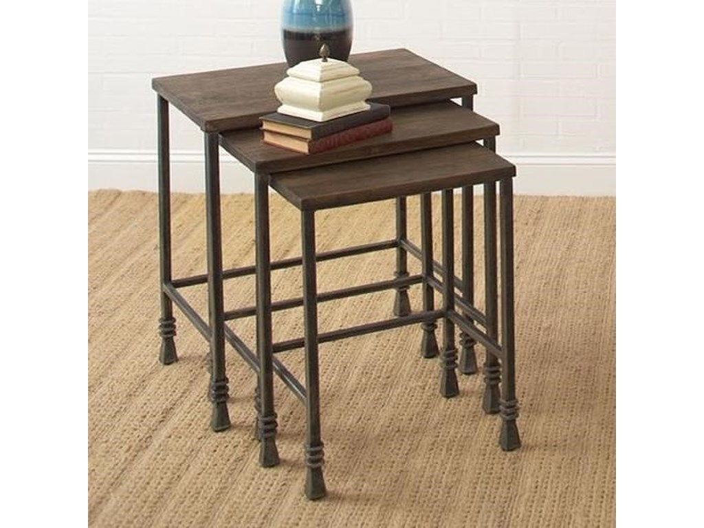Largo Accent TablesThree Pack Stack Tables