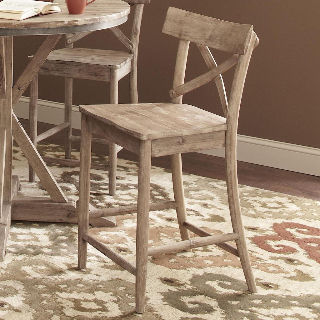 Largo Callista Rustic Casual 24 Counter Stool Lindys Furniture