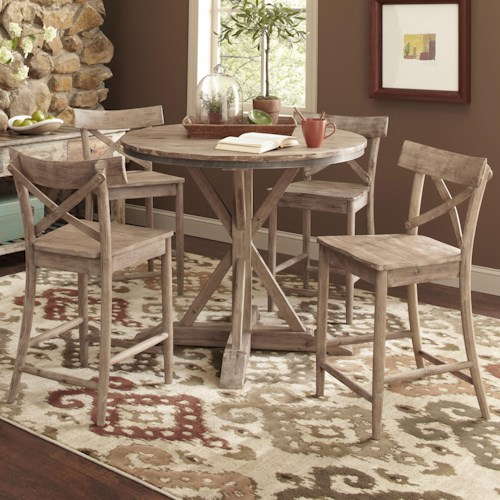 Rustic Pub Table And Chairs Home Design Ideas
