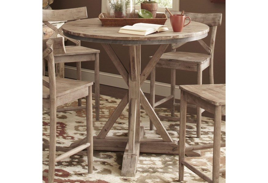 Pleasing Callista Round Counter Height Table Gmtry Best Dining Table And Chair Ideas Images Gmtryco
