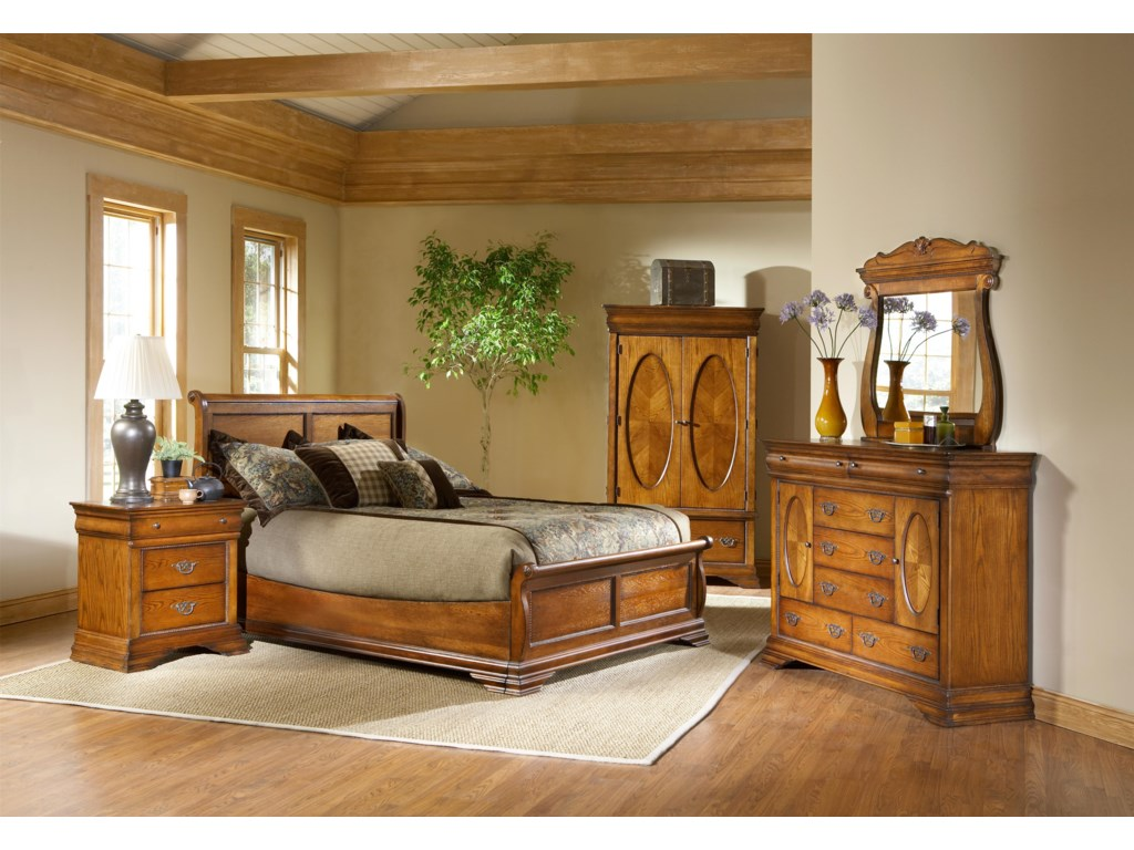 Shown with Bureau, Low Profile Bed, and Nightstand
