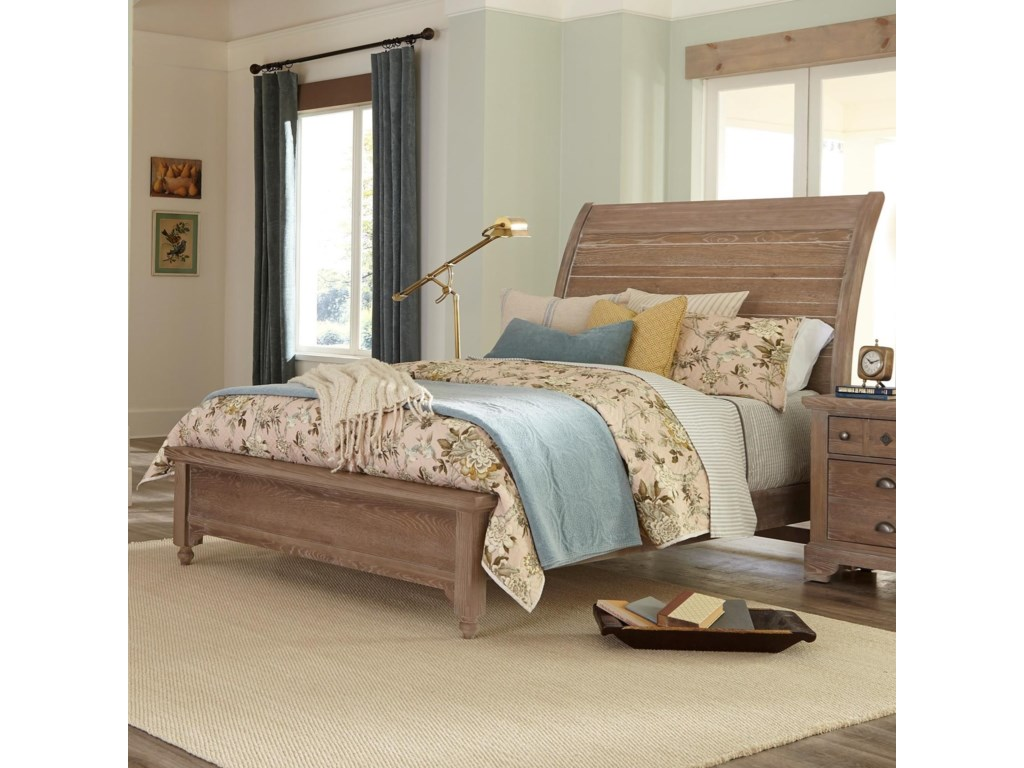 Laurel Mercantile Co. LMCo. HomeQueen Low Profile Bed