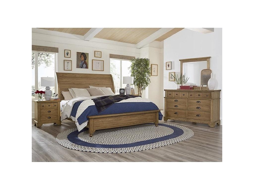 Laurel Mercantile Co. LMCo. HomeKing Bedroom Group