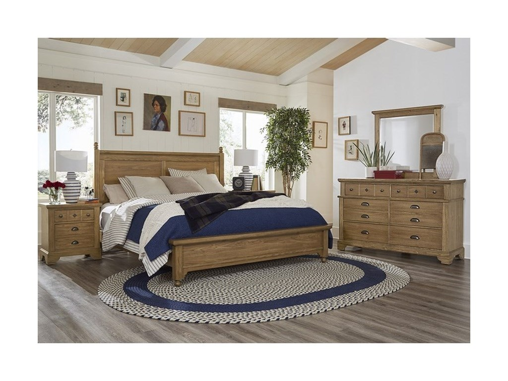 Laurel Mercantile Co. LMCo. HomeQueen Bedroom Group