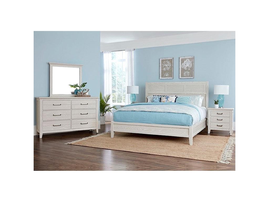 Laurel Mercantile Co. PassagewaysQueen Low Profile Bed