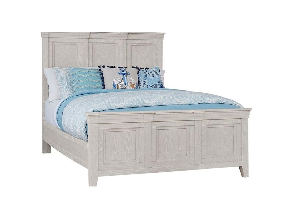 Laurel Mercantile Co. PassagewaysQueen Panel Bed