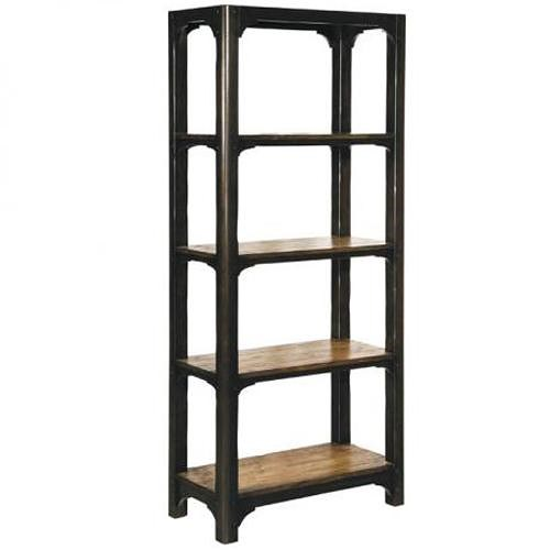 LaurelHouse Designs Carson Shelving Unit with 4 Shelves and Two Tone Finish
