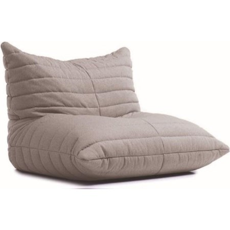 Light Grey Beanbag Lounger