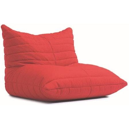 Red Beanbag Lounger