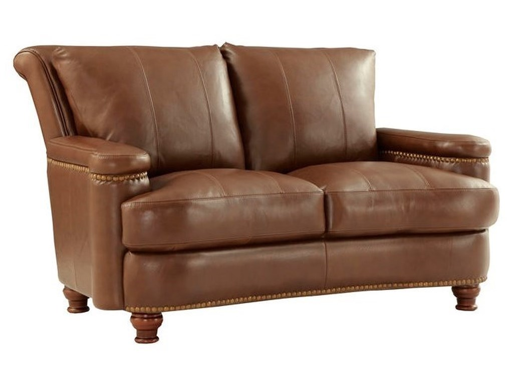 Leather Italia USA HuttonLeather Loveseat