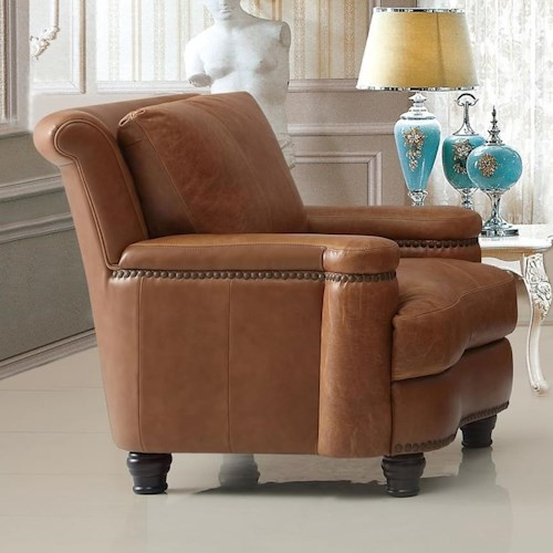 Leather Italia USA (Beaverton Store Only) Hutton Leather Chair