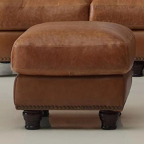 Leather Italia USA (Beaverton Store Only) Hutton Ottoman