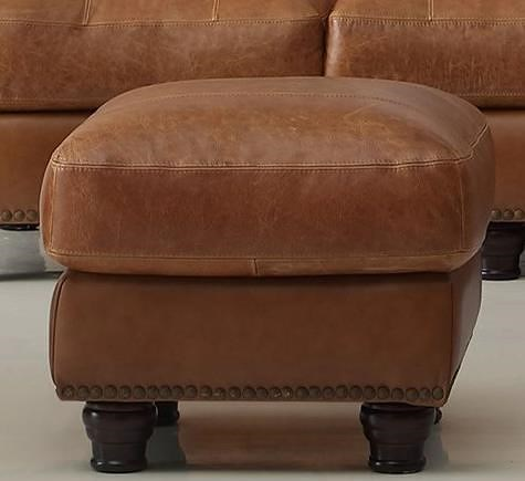 Leather Italia USA (Beaverton Store Only) Hutton Ottoman