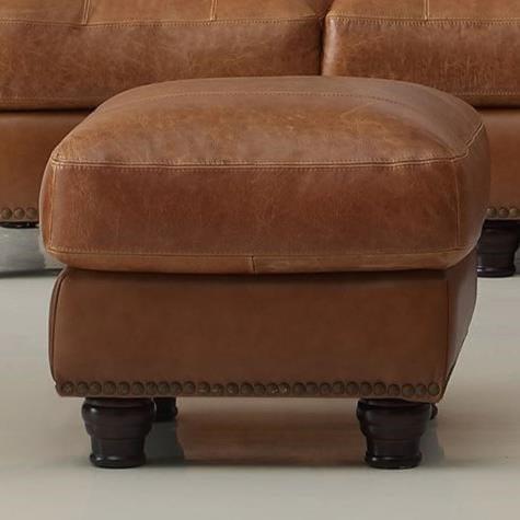 Leather Italia USA Hutton Ottoman