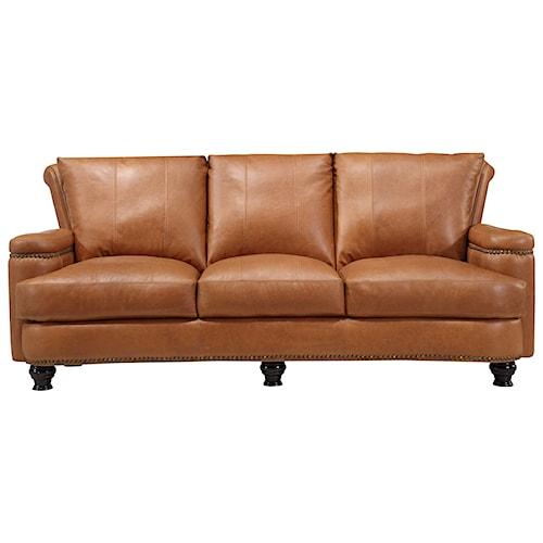 Leather Italia USA Hutton Leather Sofa