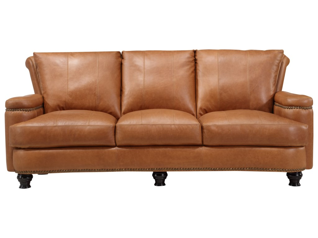 Leather Italia USA HuttonLeather Sofa