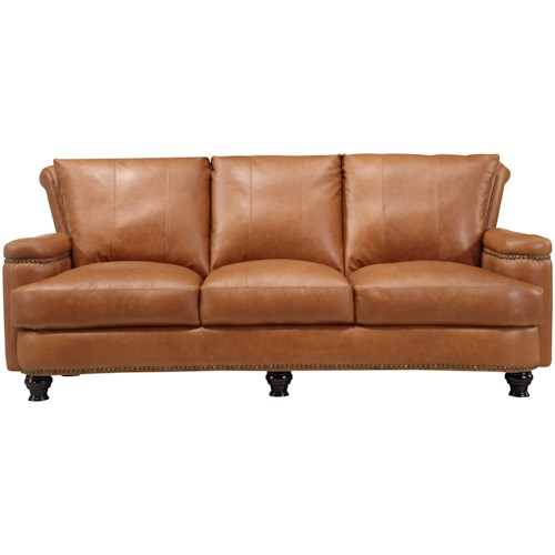 Leather Italia USA (Beaverton Store Only) Hutton Leather Sofa