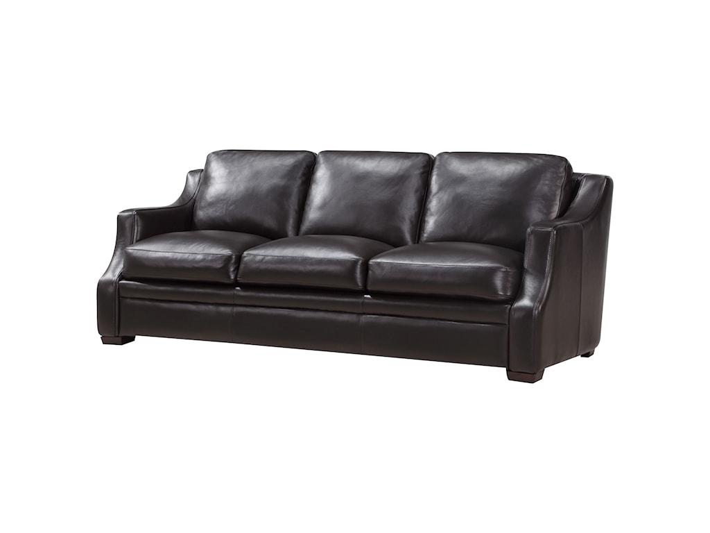 Leather Italia USA GrandviewContemporary Leather Sofa