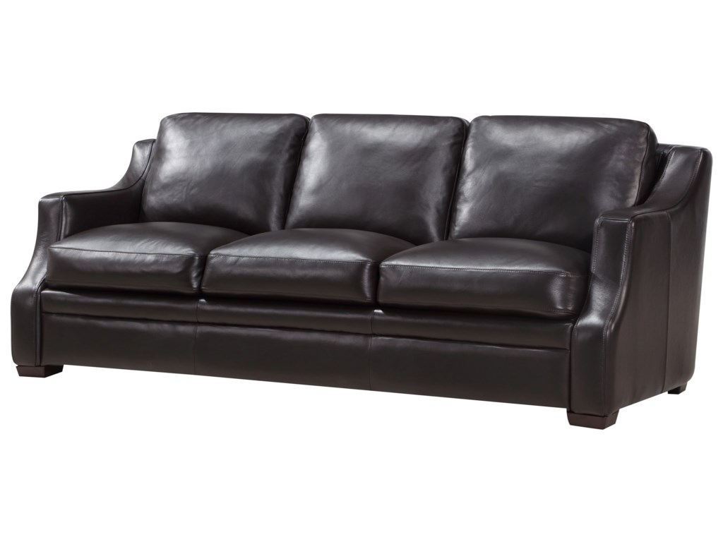 Leather Italia USA GrandviewContemporary Leather Sofa