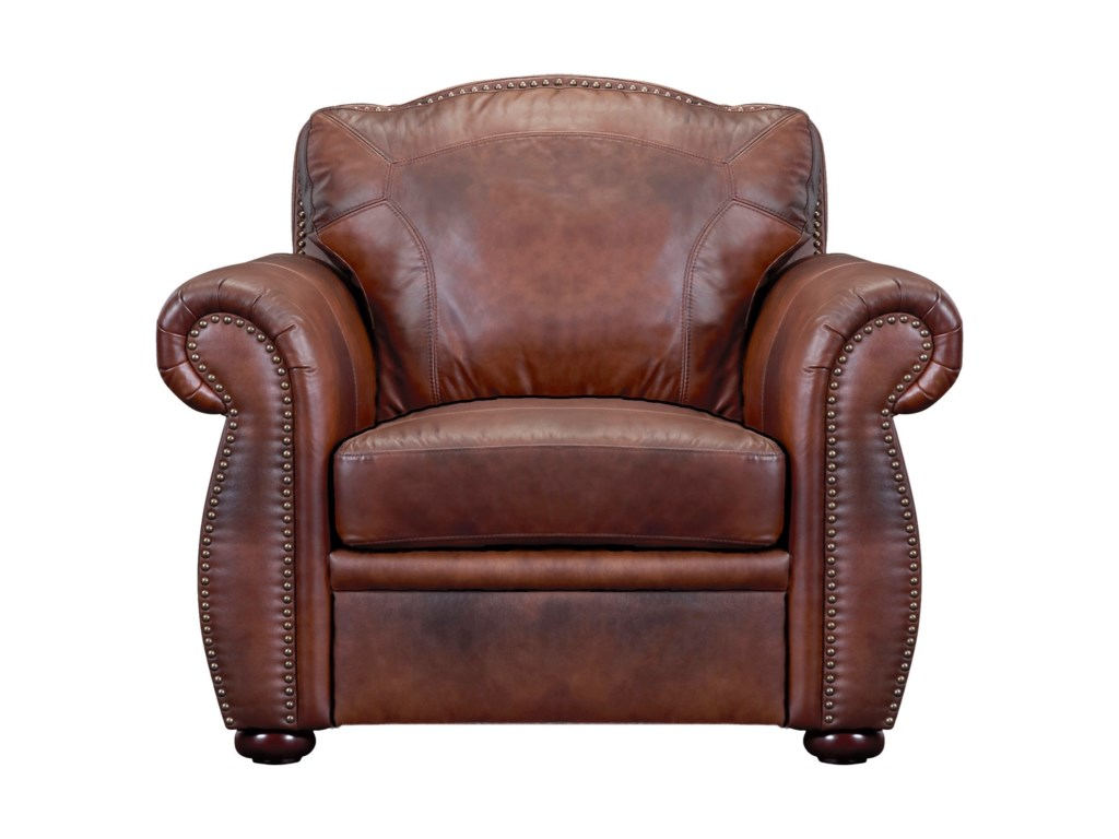 Leather Italia USA ArizonaLeather Chair