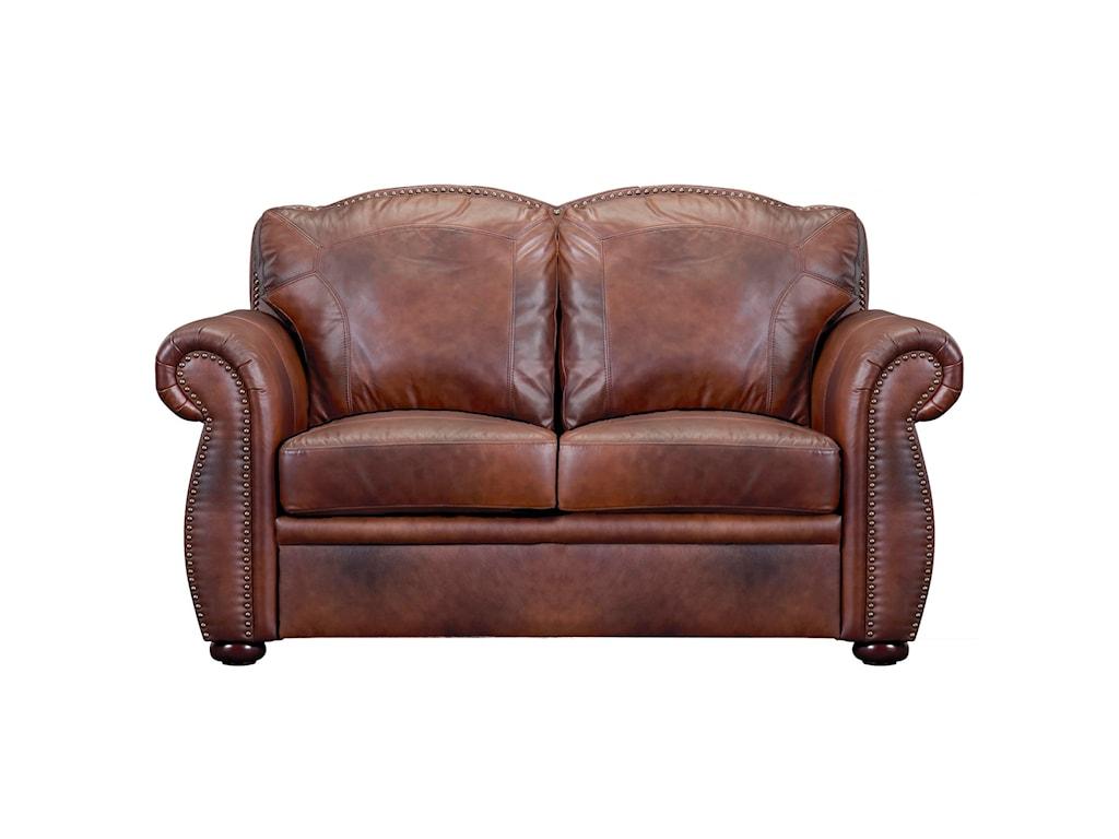 Leather Italia USA ArizonaLeather Loveseat