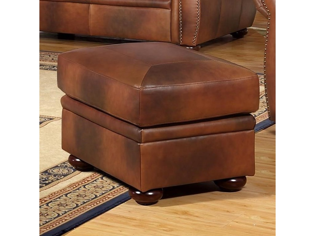 Leather Italia USA ArizonaLeather Ottoman