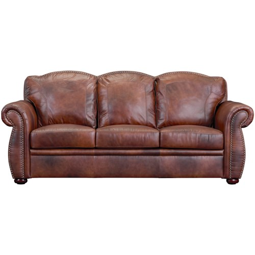 Leather Italia USA Arizona Leather Sofa