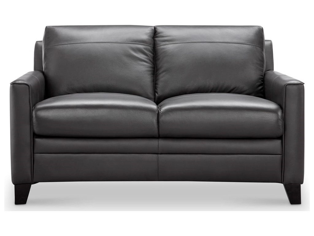 Leather Italia USA FletcherLeather Loveseat