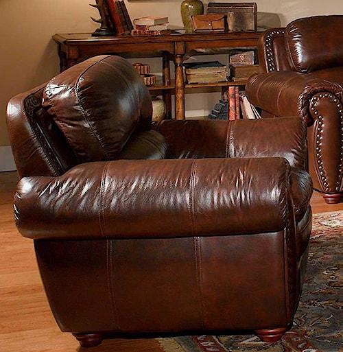 Leather Italia USA Aspen Leather Chair