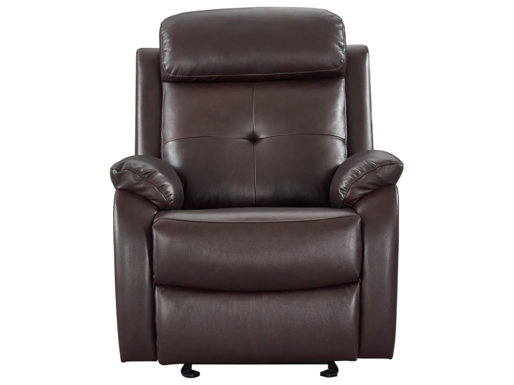 Leather Italia USA BentonGlider Recliner