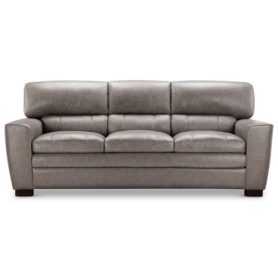Exceptionnel Leather Italia USA (Beaverton Store Only) Cambria   Wilson Contemporary  Leather Sofa