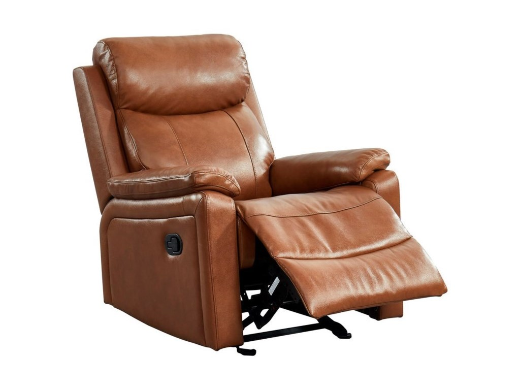 Leather Italia USA ColeGlider Recliner