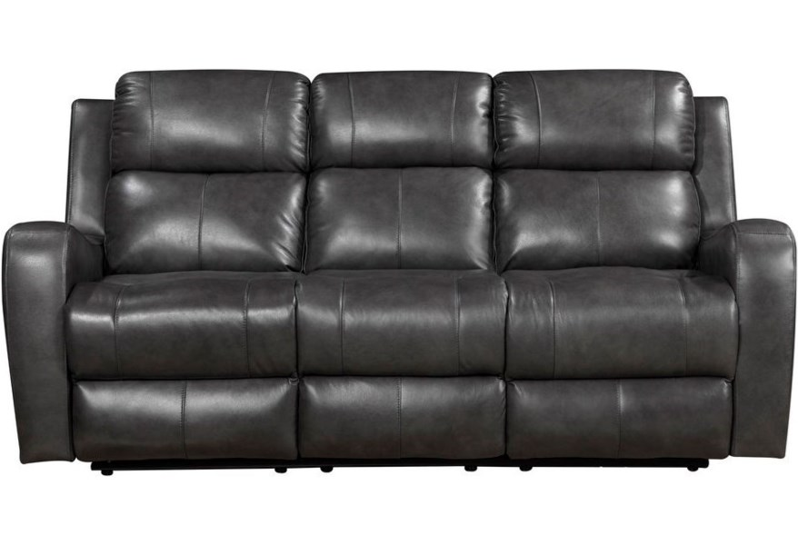 Cortana Reclining Leather Sofa