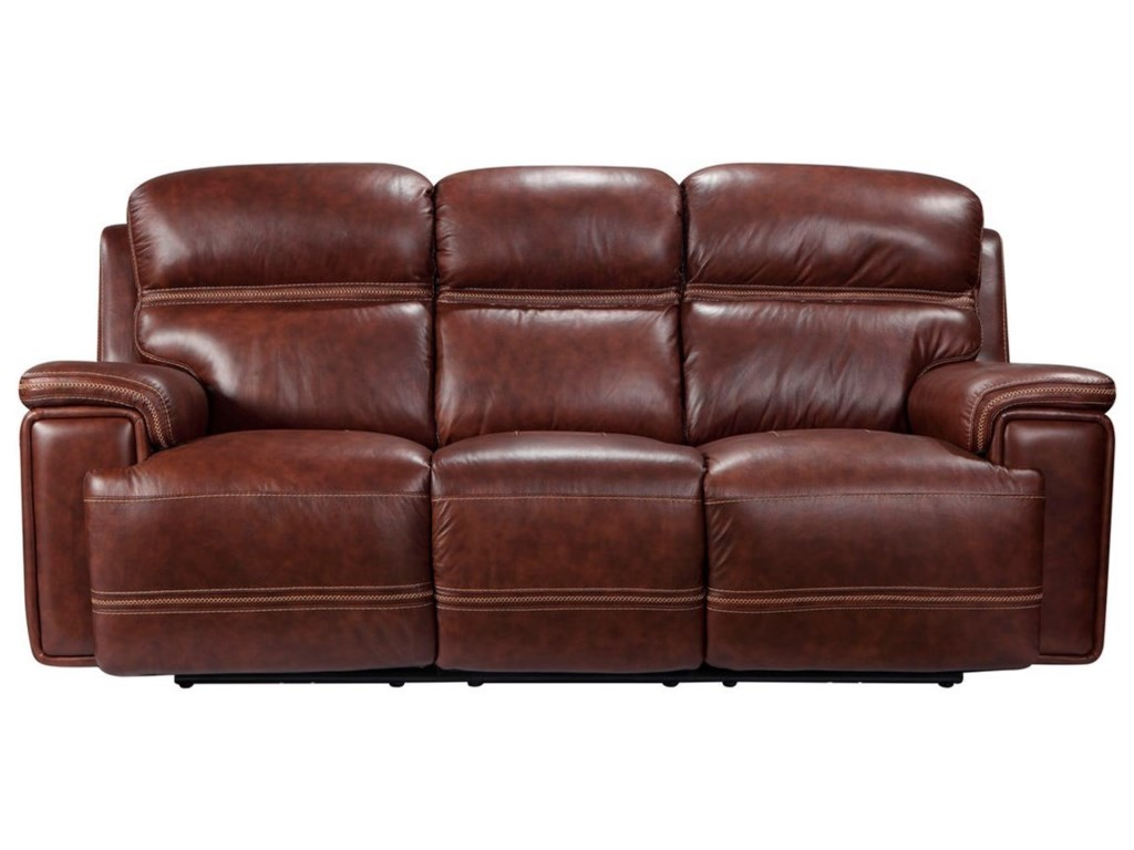 Fresno Leather Reclining Sofa