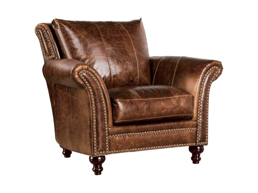 Leather Italia USA Georgetowne - ButlerLeather Chair