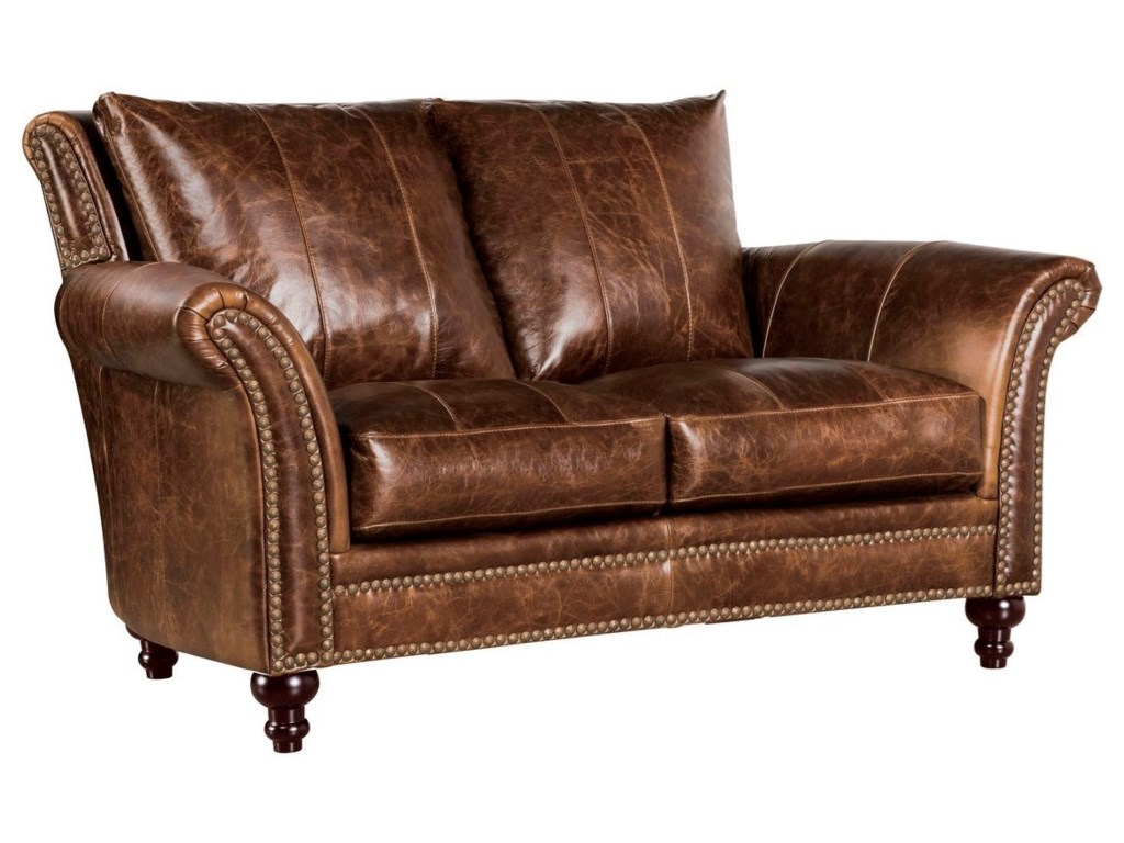 Leather Italia USA Georgetowne - ButlerLeather Loveseat